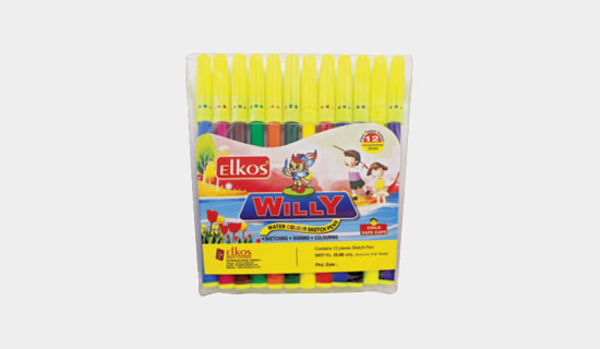 Sketch Pen - Willy